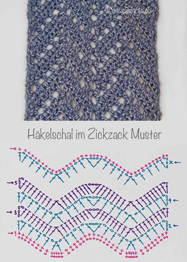 143 best Crochet Ripple Stitch images on Pinterest | Crochet ripple ...