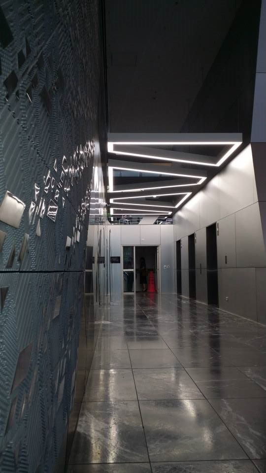 Darkon extrusion installed at QV Building - 180 Lonsdale www.ladgroup.com.au