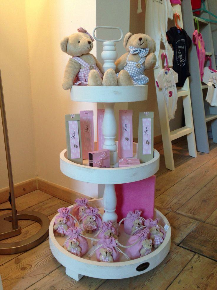 Doopsuiker met mooie roze tinten. Te koop bij Blue & Pink Schuttersvest 28, 2800 Mechelen. www.blueandpink.be