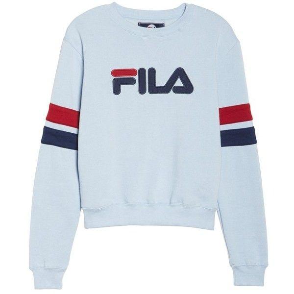 Women's Fila Newton Sweatshirt (€31) ❤ liked on Polyvore
