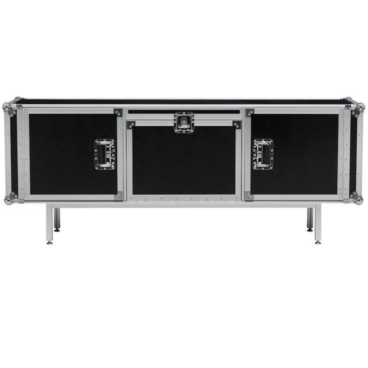 Moroso for Diesel Total Flight Case Cabinet in Extruded Aluminum and Chrome