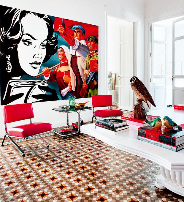 172 best Interior design red images on Pinterest Red Spaces