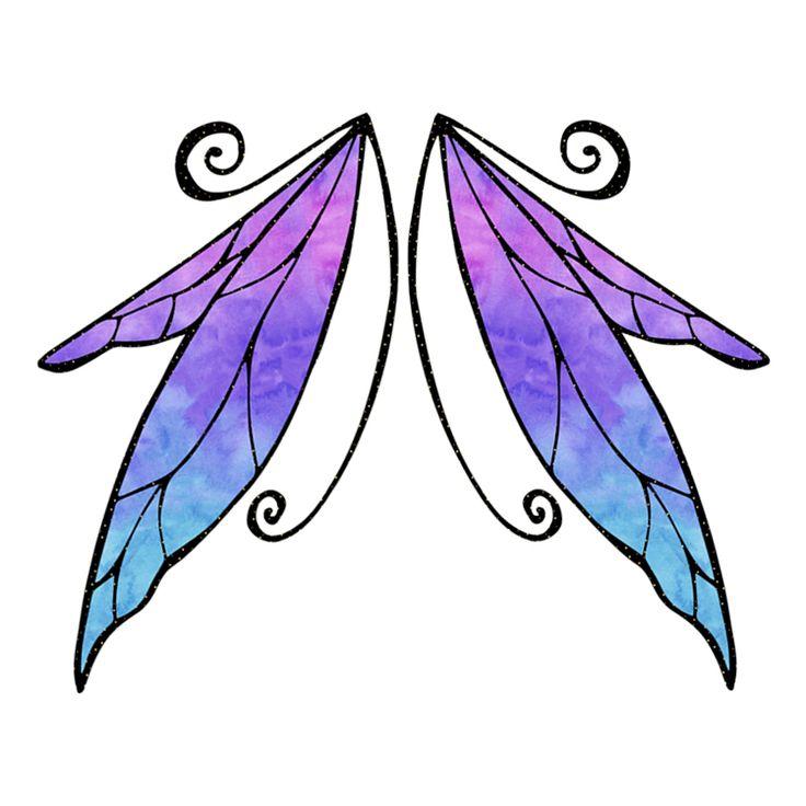 Wings Temporary Tattoos #708