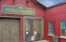 Les murales MURIRS à Sherbrooke font beaucoup jaser de par leur beauté et leurs traits historiques. Venir admirer celle sur la centrale Frontenac et découvrir pourquoi elle porte le nom de « 100 ans au service des gens ».