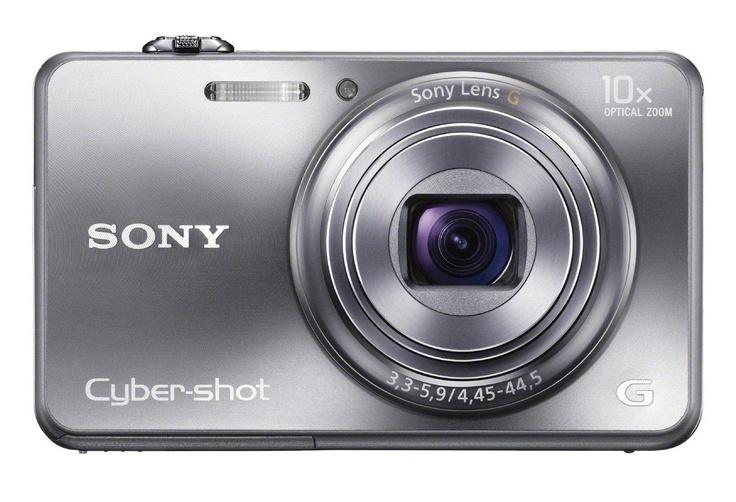 Cámara Sony Cyber-shot DSC-WX150 (Plateada) $400000