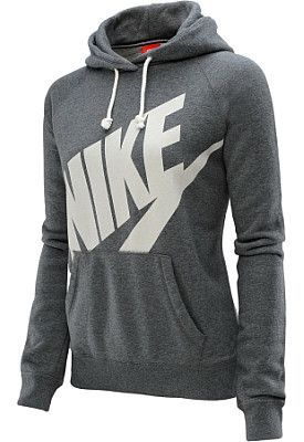 Get through these last few weeks of winter with a cute @NikeWomen hoodie!