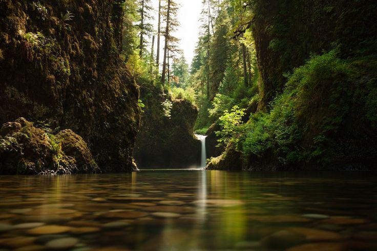 Punchbowl Falls | Eagle Creek | Columbia River Gorge | Oregon