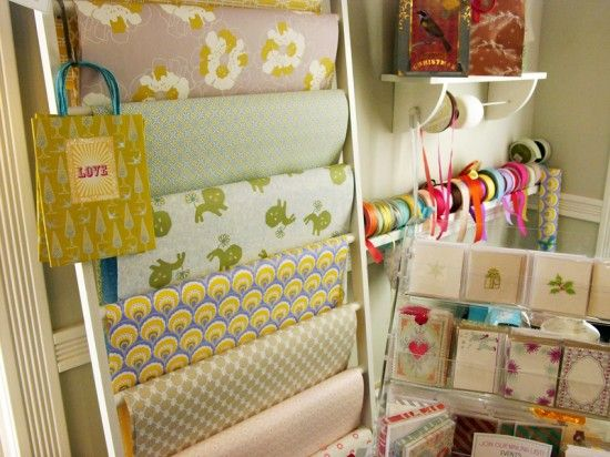 the ultimate gift wrap station