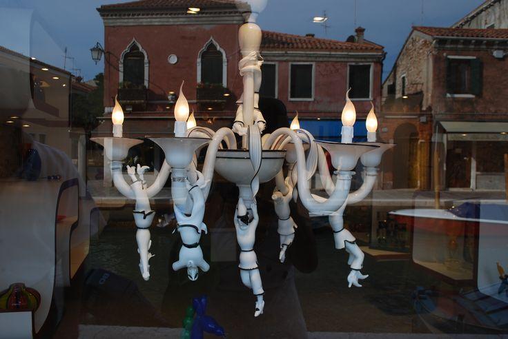 Venice - reflections of Murano