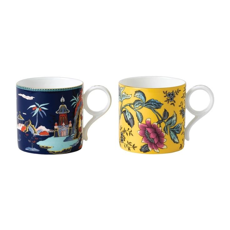 Flamingo 0.20L Tahiti Collection Teacup /& Saucer