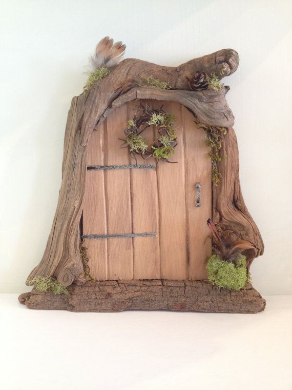 Fairy doors fairies and etsy on pinterest for Real fairy doors