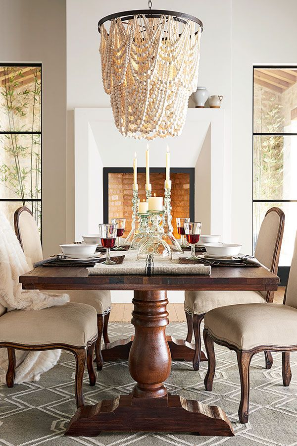 Pottery Barn · Pottery Barn ChandelierChandelier IdeasPottery Barn Lighting ChandeliersCoastal Dining RoomsFormal ...