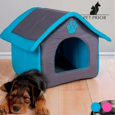 If you want the pets in your home to sleep in a comfortable and practical house, then the fabric house for pets is a must-have. Once they enter, they won't want to leave! In addition, as it folds up easily, thanks to the zip on the...