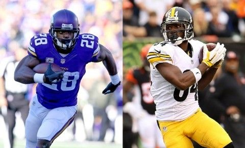 Fantasy football draft debate: Adrian Peterson or Antonio Brown, who's No. 1? - The Washington Post