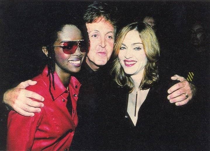 Paul McCartney Madonna Lauryn Hill
