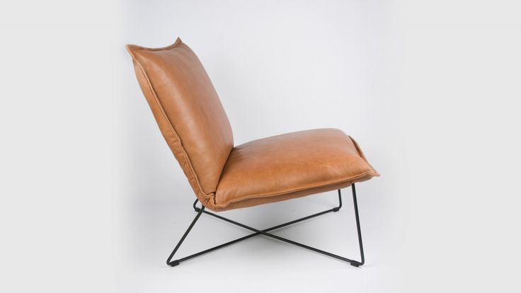 Luchtige fauteuil.