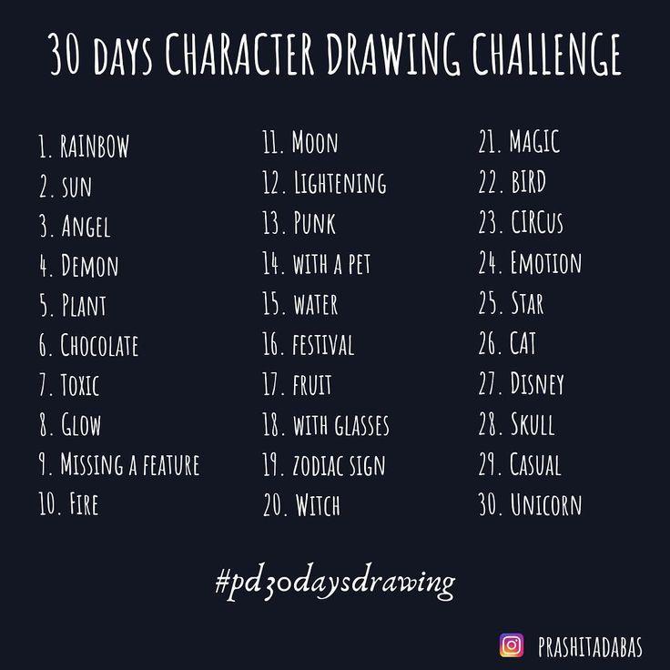 Je participe à un défi de dessin de personnage de 30 jours. Rejoignez-moi si vous voulez ❤️ # pd30daysdrawing # 30daysdrawingchallenge…