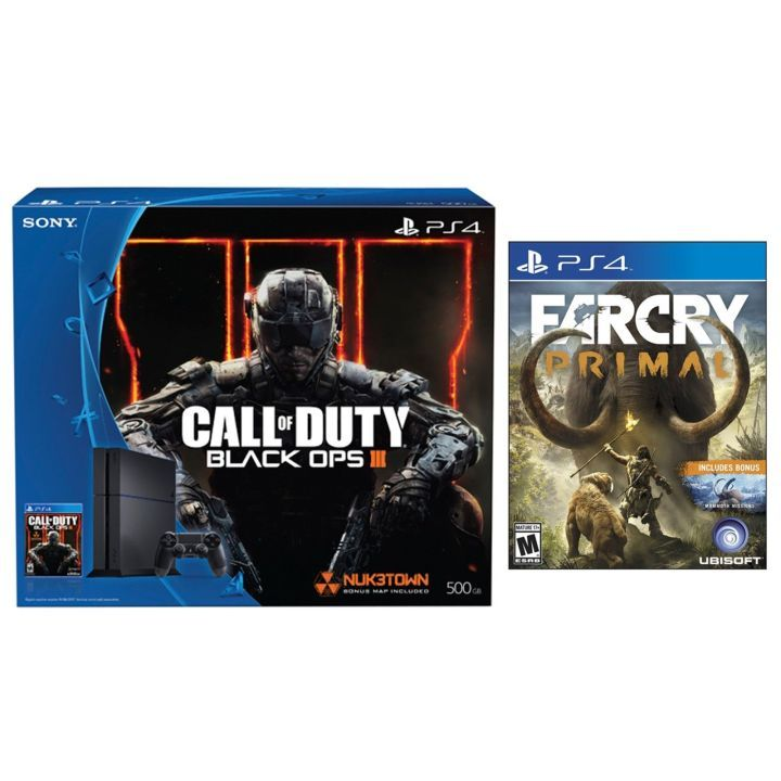 Daily Deals: PS4 With Free Game Xbox One With $100 Gift Card Fallout 4 Season Pass  Free Far Cry Primal with CoD PS4 Bundle  Newegg on eBay is tossing in a free copy of Far Cry Primal with the Call of Duty: Black Ops III PS4 bundle.  Really Nice Price For This 55-inch HDTV  If you're not ready for 4K just yet this is solid deal on a 120Hz 1080p LG HDTV. It's $450 and normally sells for over $600.  Continue reading  https://www.youtube.com/user/ScottDogGaming @scottdoggaming