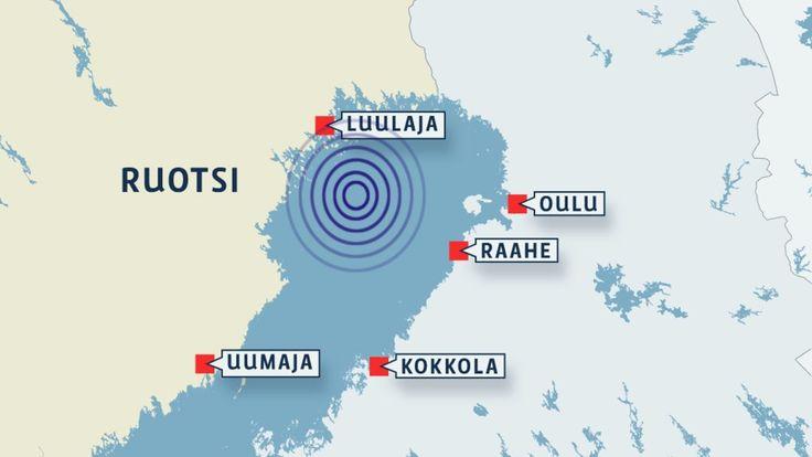 Harvinaisen voimakas maanjäristys Perämerellä Järistys tapahtui lähellä Ruotsin rannikkoa, mutta havaintoja siitä on tehty laajalla alueella Pohjois-Suomessa ja Pohjois-Ruotsissa. Maanjäristys oli Suomen oloissa harvinaisen voimakas.  Kotimaa