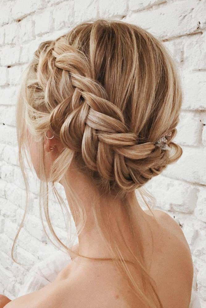 Braided Prom Updo Side Braids For Long Hair Braids For Long Hair Long Thin Hair