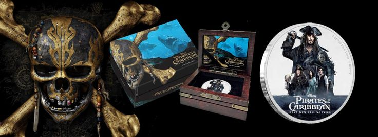 New Zealand Mint Releases Pirates of the Caribbean Silver Coin