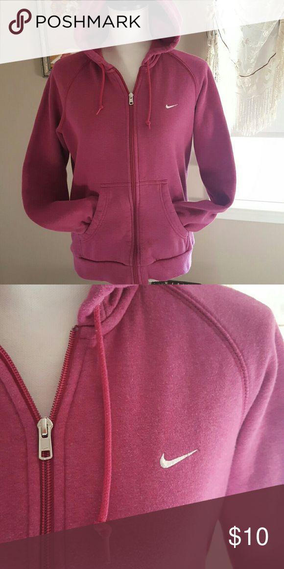 Nike zip hoodie 2 pocket zip Nike Hoodie pink Nike Tops Sweatshirts & Hoodies