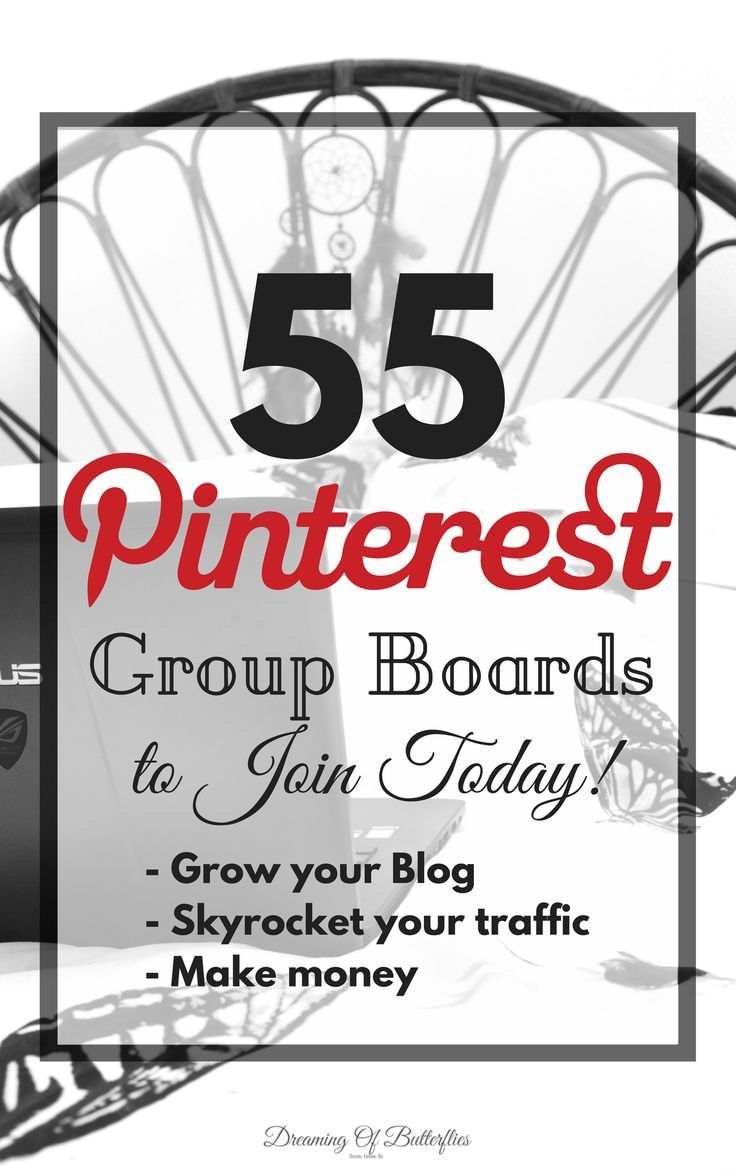 New to Pinterest? Need a FREE list of awesome Pinteres Group Boards that give us hundreds ( to over 2k) views per day? Grab it here!