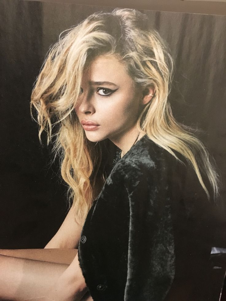 I love everything about this Chloe Grace Moretz