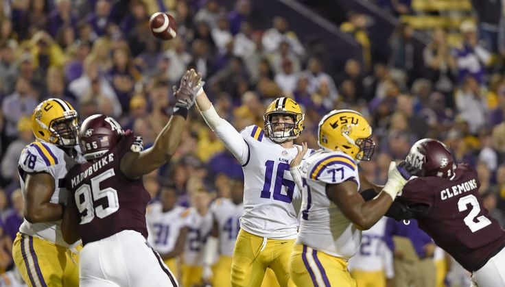Danny Etling's career night triggers LSU to 7th straight win over Texas A&M - The Advocate