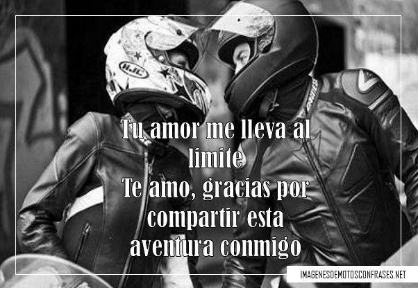 Imágenes de motociclistas enamorados
