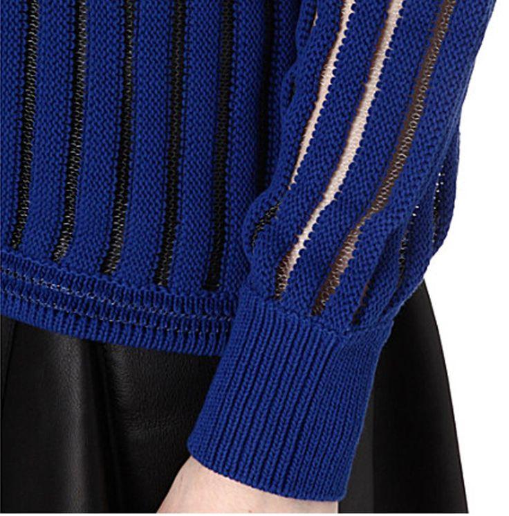Knitting Inspiration: Philip Lim knitwear