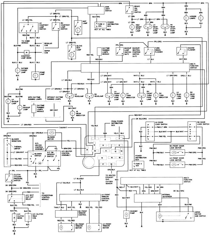 Awesome 1994 Ford Ranger Wiring Diagram In 2020 Ford Ranger Ford Courier 2004 Ford Ranger
