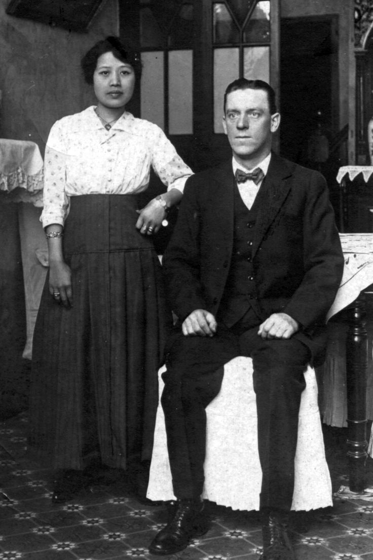 Great Grandparents, George and Lilian (Sr.) Ellis. Ellis was the Editor for the North China Daily News.
