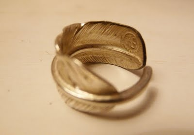 goro feather ring