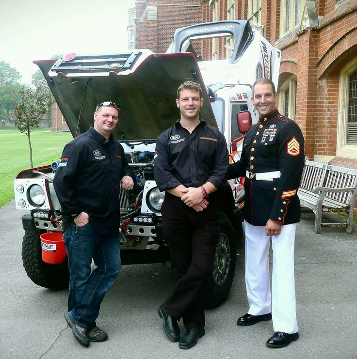 Inspirational talk at Eastbourne College with Gareth Paterson, Tony Harris and US Marine Mark Zambon