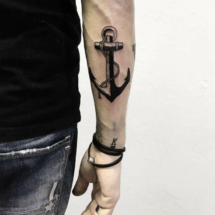 Anker Tattoo Motive: 54 coole Ideen für Ihre nächste Tätowierung
