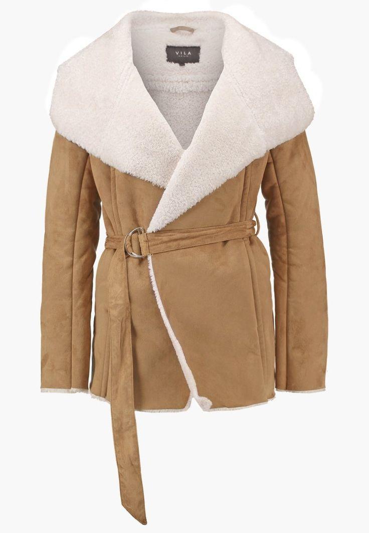 Vila VIAVIATE - Winter jacket - dusty camel - Zalando.co.uk