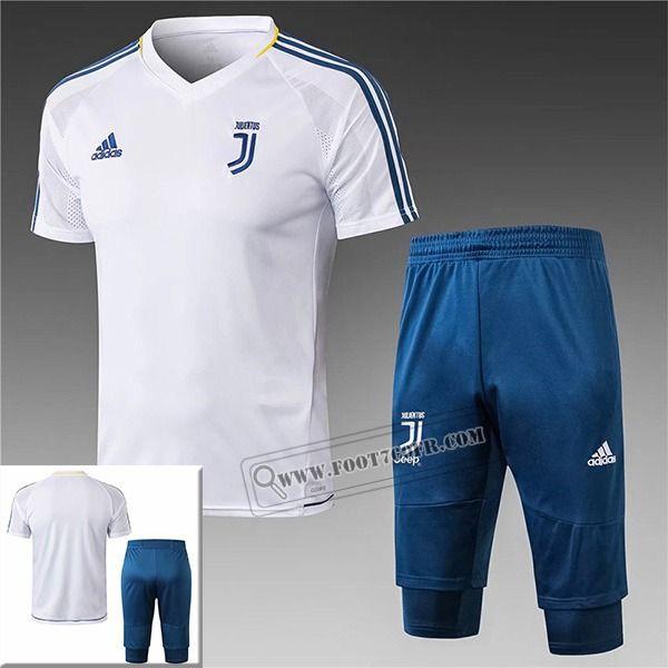 Pre Match: Nouveau Ensemble Maillot Training Juventus Blanc