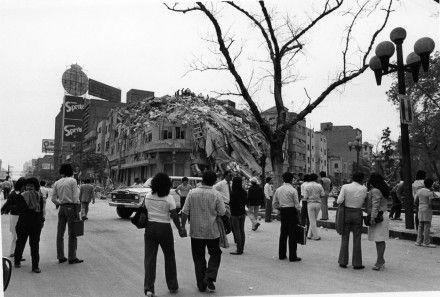 La devastación por el terremoto en la Ciudad de México. Foto: Marco A. Cruz