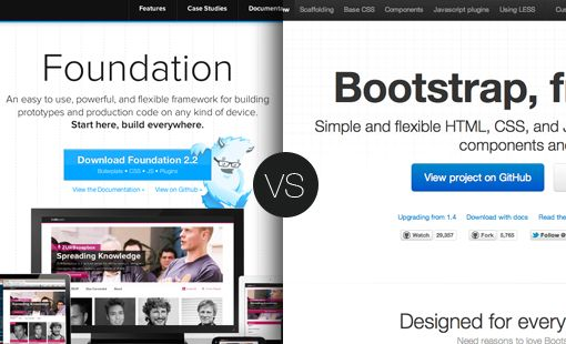 CSS Frameworks: foundation vs. bootstrap