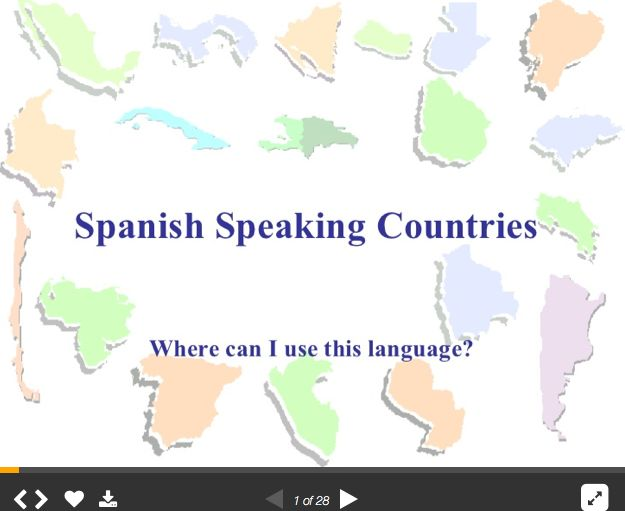 Official Spanish Speaking Nations