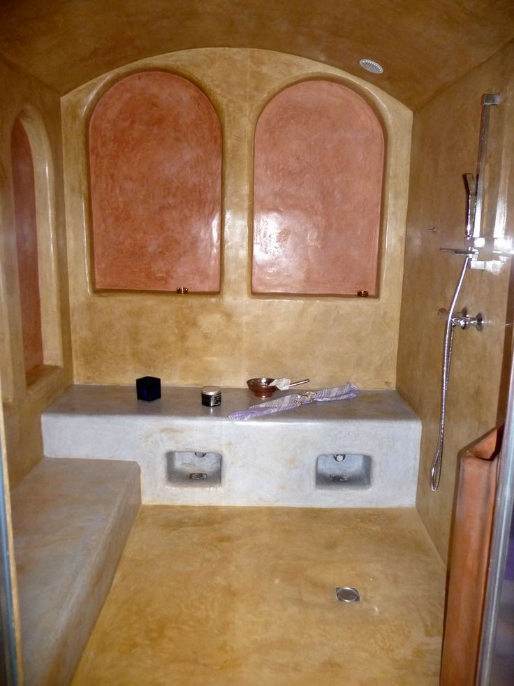 24 best Hammam images on Pinterest Steam room, Black soap and Saunas - faire un sauna maison
