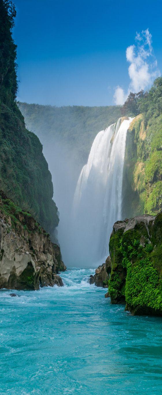 Tamul Falls | San Luis Potosi, Mexico | via Creative Lolo
