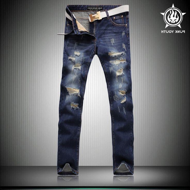 31.95$  Buy now - https://alitems.com/g/1e8d114494b01f4c715516525dc3e8/?i=5&ulp=https%3A%2F%2Fwww.aliexpress.com%2Fitem%2FMen-s-Fashion-Vintage-Hole-Ripped-Biker-Jeans-Male-Casual-Slim-Patch-High-Quality-Denim-Pants%2F32717038142.html - Men's Fashion Vintage Hole Ripped Biker Jeans Male Casual Slim Patch High Quality Denim Pants Long Trousers 31.95$