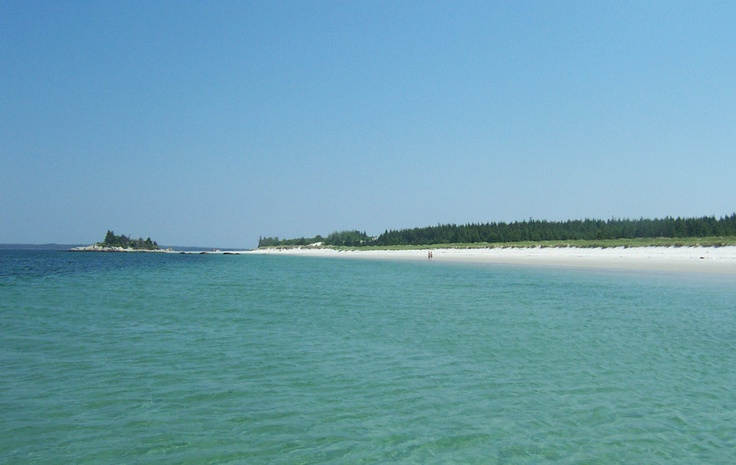 Port Mouton Island Beach is only accessible by boat. It is an amazing beach, clear, pristine water - local residents have been coming here for decades for Sunday picnics and weekend camping adventures.