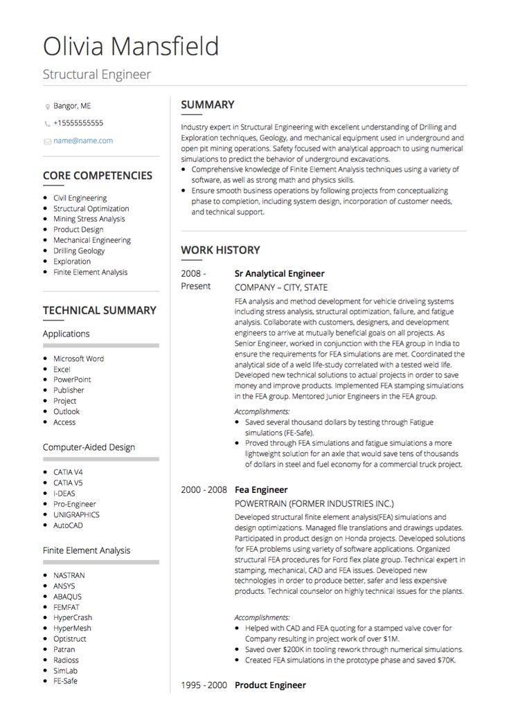 Civil engineer resume graduate civil engineer resume