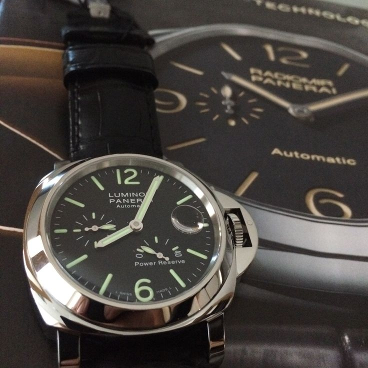 SOLD on #PaneristiFriday Panerai PAM090 http://www.globalwatchshop.co.uk/panerai-luminor-power-reserve-pam090.html?utm_content=bufferf96e7&utm_medium=social&utm_source=pinterest.com&utm_campaign=buffer off to a great new home - pleasure meeting you!