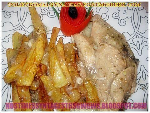 ΚΟΤΟΠΟΥΛΟ ΡΙΓΑΝΑΤΟ!!!  Αλλο ενα πεντανοστομο πιατο με λεμονοριγανατο κοτοπουλο και πατατουλες τηγανιτες!!!...by nostimessyntagesthsgwgws.blogspot.com