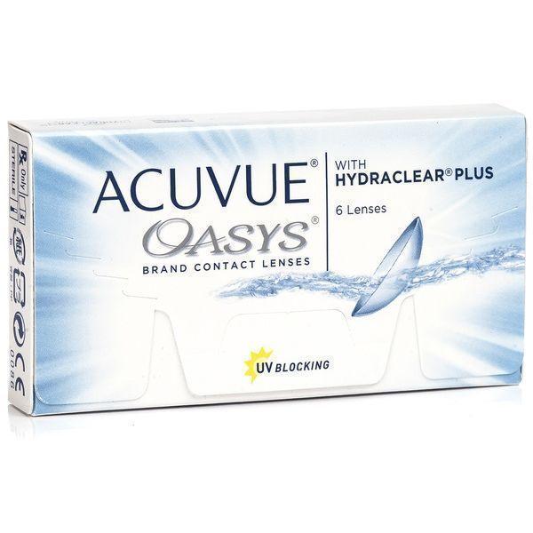 Lentes De Contacto Acuvue Oasys Al Mejor Precio Optica 24 7
