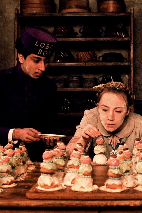 The Grand Budapest Hotel 2014 (Wes Anderson)- I really love looking at the pastries.